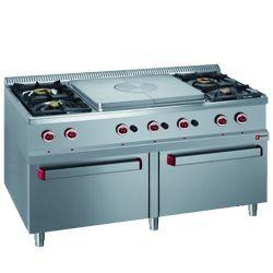 GAS COOKING RANGE SOLID TOP