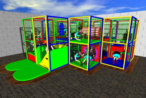 Restricted play areas - Play zone - Combifun (CF2)