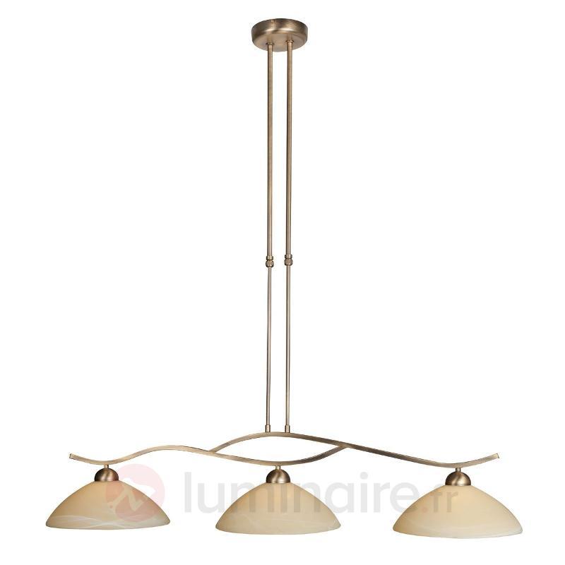 Suspension à 3 lampes Capri - Suspensions rustiques