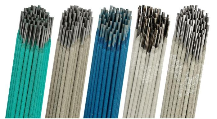 Basic-type electrodes  - UONI 13/55 ELECTRODES (IMPROVED QUALITY) GOST 9467-75:E50A