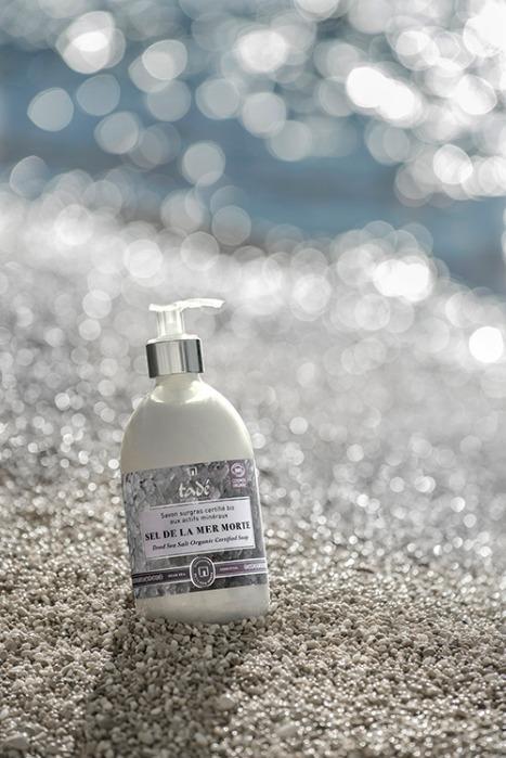 Savon Liquide Au Sel De La Mer Morte Cosmos Organic - 500 Ml - Savon liquide naturel