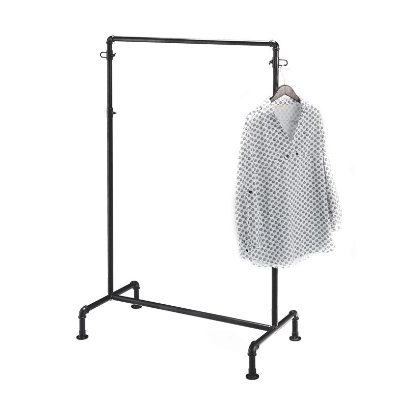 Gas pipe clothes rail - Black -Several sizes and types available