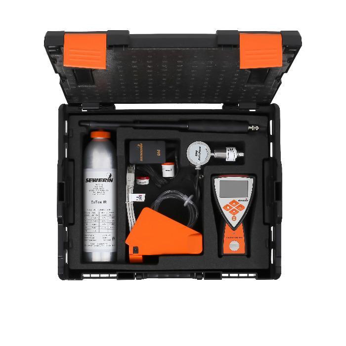 EX TEC PM 500-550-580 - Appareil de mesure de concentration de gaz portable