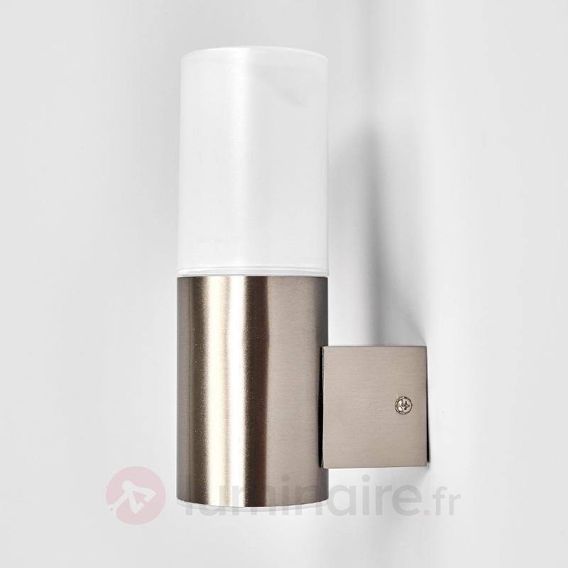 Milena - applique extérieure LED en inox - Appliques d'extérieur LED
