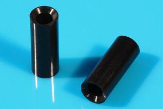 Distanz-Hülsen / Distanzröhrchen aus Kunststoff mit Senkung bzw. für Senkkopfsch - null