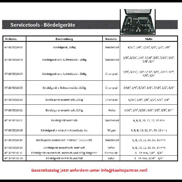"""Bördelgerät 3/16""""1/4""""3/8""""1/2""""5/8""""3/4"""" exzentrisch ohne... - Kälte Werkzeug"""