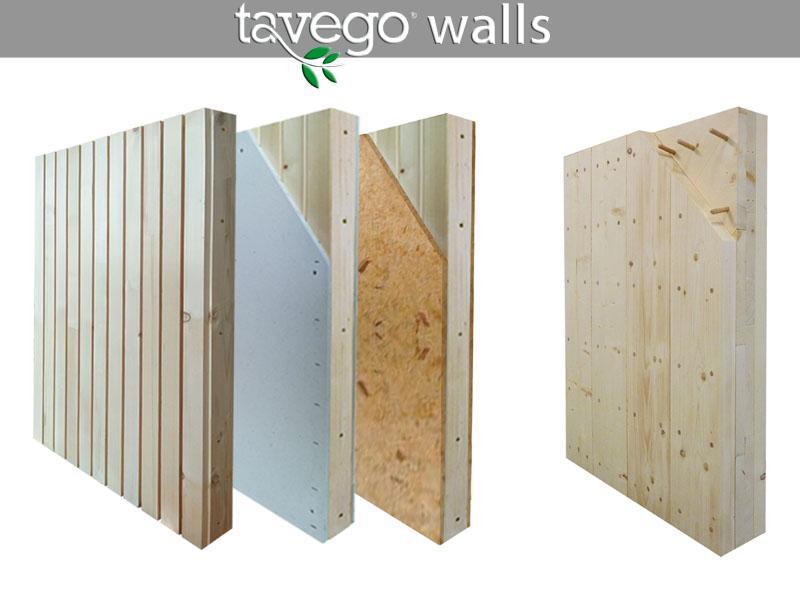 Pareti portanti ecosostenibili in legno