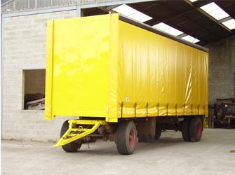Bâches secteur transport - Bâches camions