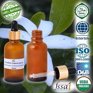 Ancient healer Gardenia oil 60 ml - 100% Pure & Natural Gardenia essential oils