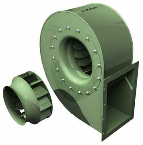 GBE • Ventilateur basse pression type GBE - Transmission directe -