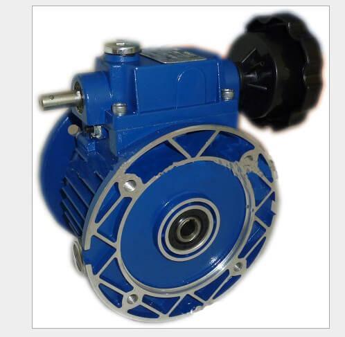 Stepless Speed Variator - Worm gearbox