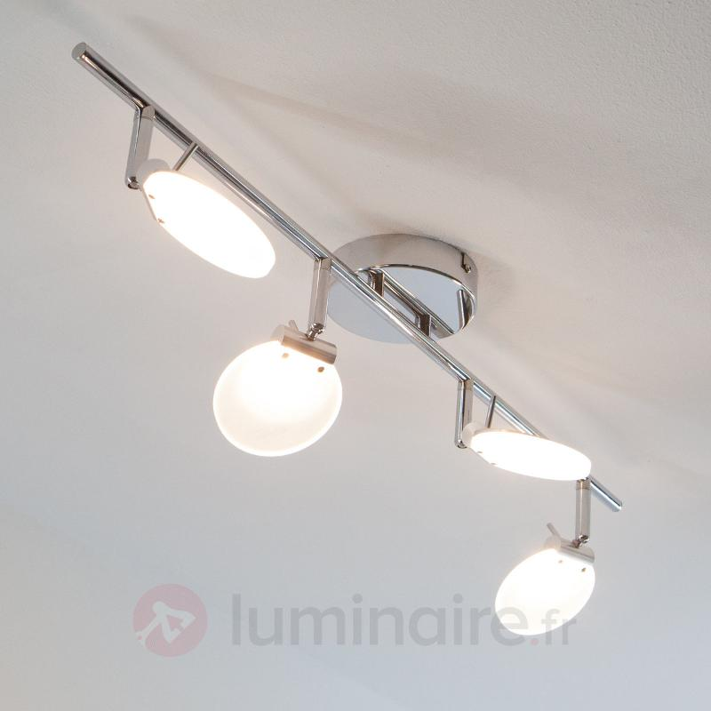 Plafonnier attrayant Sena avec LED - Plafonniers LED