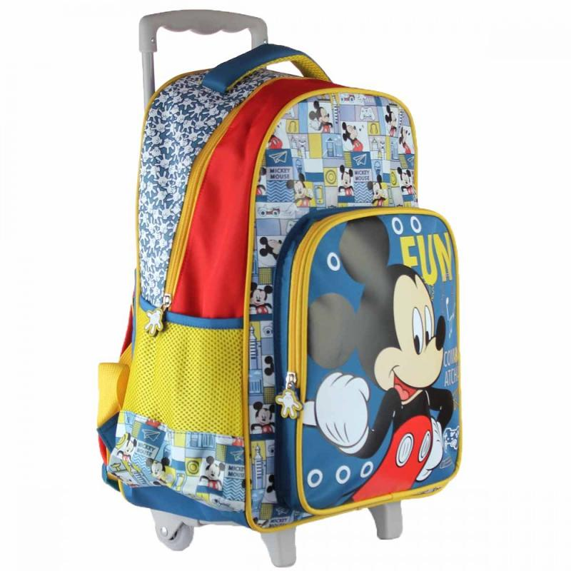 3x Trolleys Mickey Mouse 32x43x18 - Sac et Sac à dos