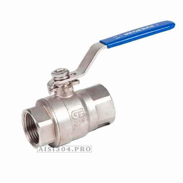 Кран шаровой муфтовый нержавеющий Dn 15 AISI 304 - TRiNOX