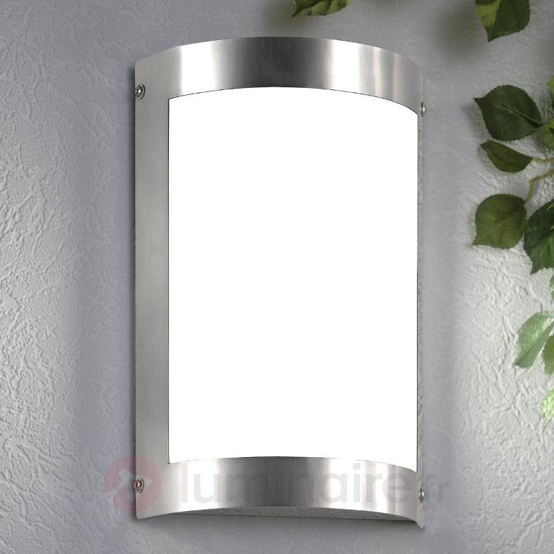 Applique d'extérieur LED élégante Marco 3 - Appliques d'extérieur inox
