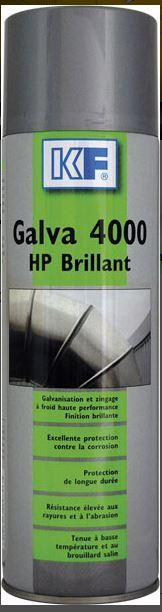 Produits anti-corrosion - GALVA 4000 HP BRILLANT