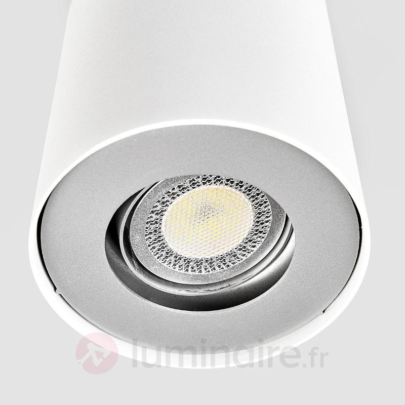 Downlight LED GU10 Giliano, blanc - Plafonniers LED