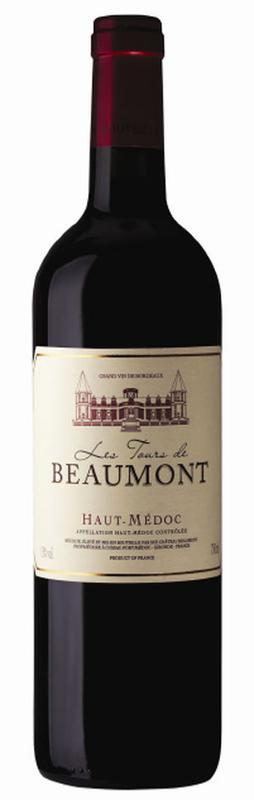 Haut-Médoc wine AOC - Les tours de Beaumont