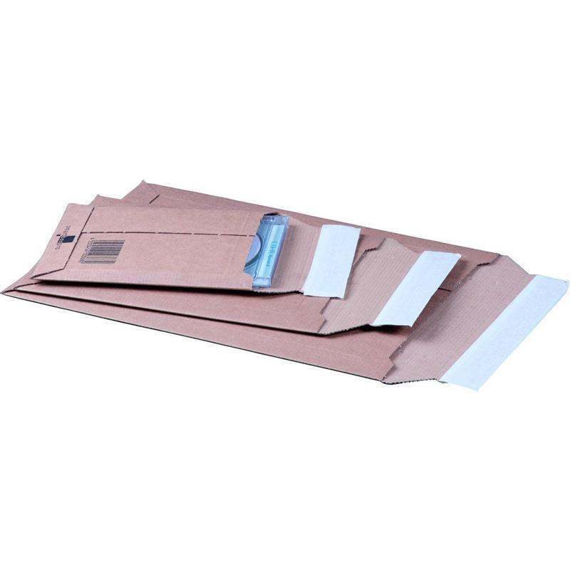 Versandtasche aus Wellpappe A4+