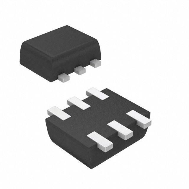 TRANS 2PNP 45V 0.1A SOT563 - Diodes Incorporated BC857BV-7