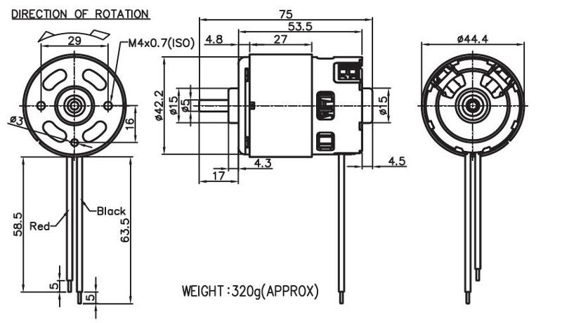 736 - Brush DC Motor