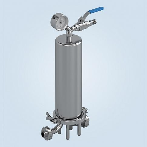 Filter Holders For Liquid Media(single Seat,for General Industrial Application) - Filter Holders