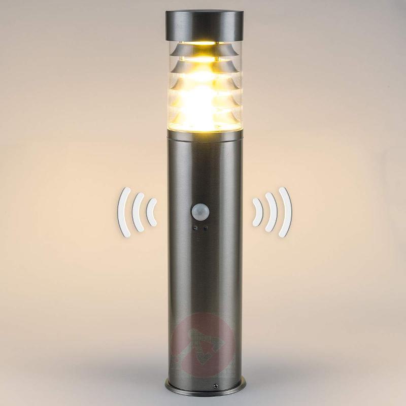 Saturn pillar light with sensor - Pillar Lights with Motion Sensor