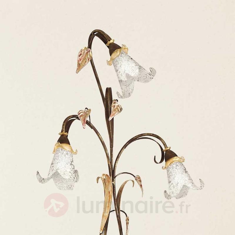 Lampadaire style florentin Giuseppe à 3 lampes - Tous les lampadaires