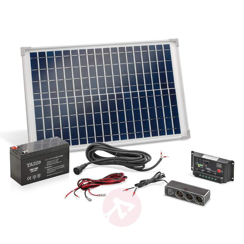 Island system 20 W solar power kit