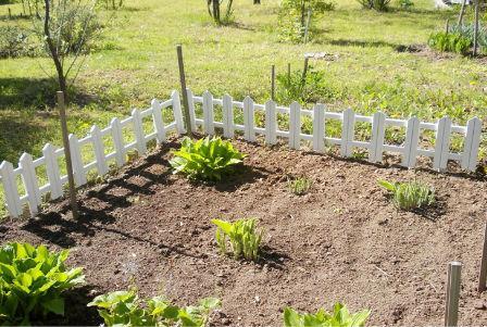Забор декоративный - Забор декоративный деревянный (палисадник)