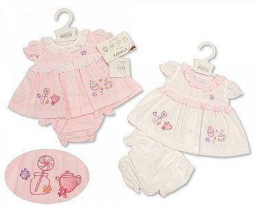 Premature Baby Dress - Tea Party  -
