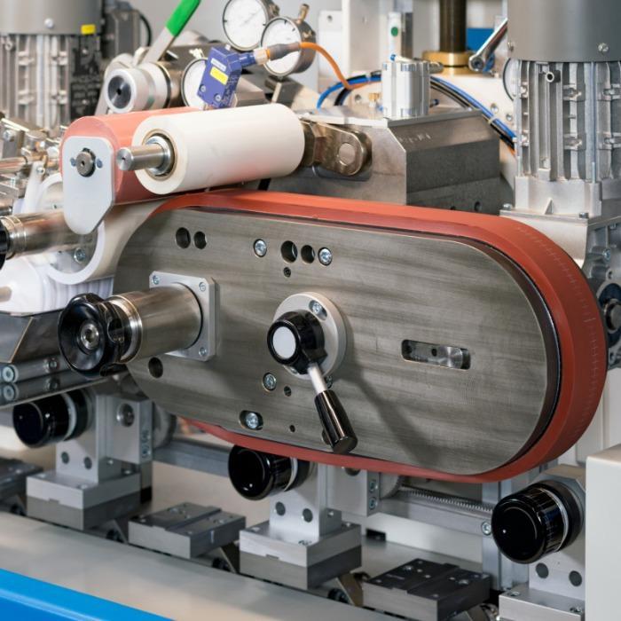 CONTINUOUS CIRCULAR Máquina de tampografía - Máquina de tampografía rotativa multicolor.