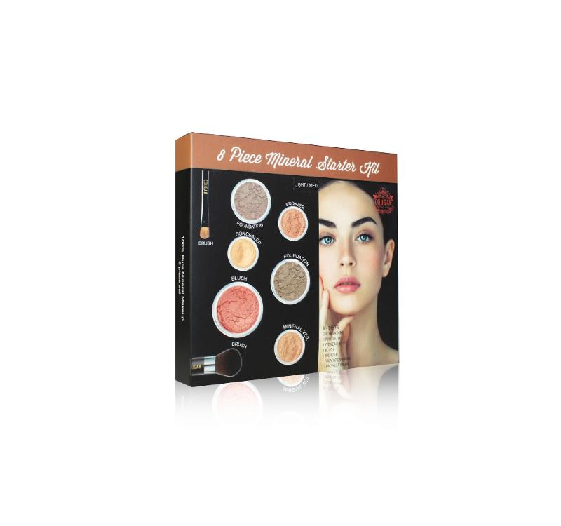 Cougar Beauty 8pc Make Up Starter set Light