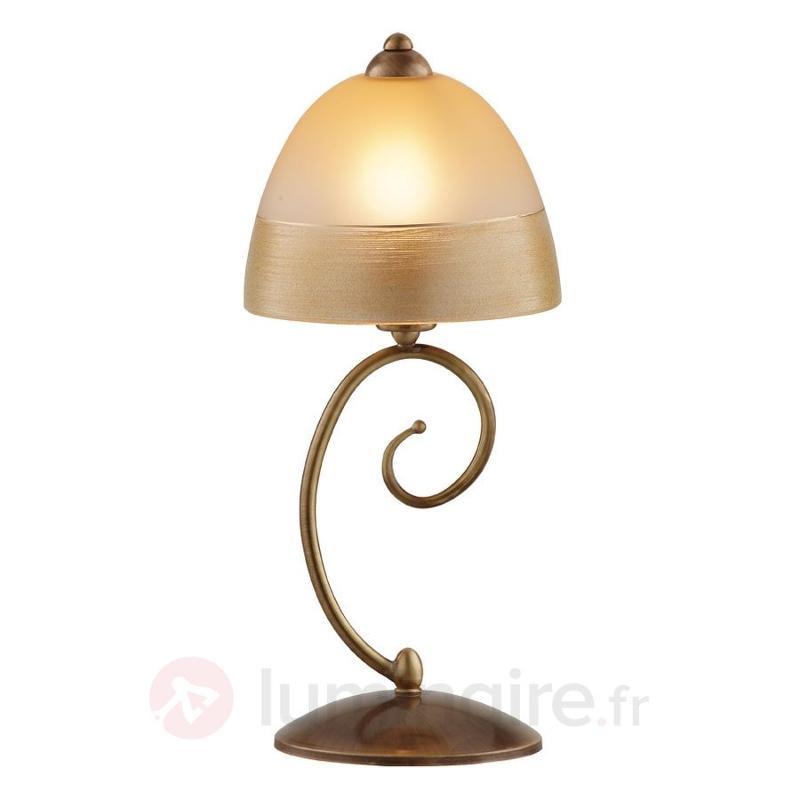 Lampe à poser séduisante Marcella - Lampes de chevet