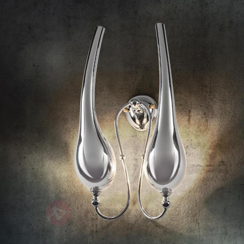 Applique Ego à 2 lampes - Appliques chromées/nickel/inox