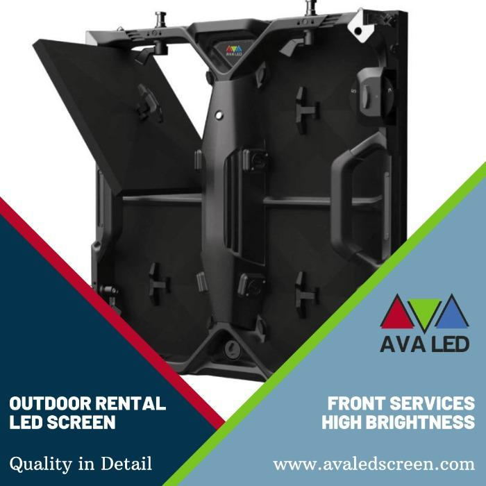 Elite CR Outdoor seeria - P2.97 - P3.91 - P4.81 Kaasaskantav ümbris AVA LED-ekraanid