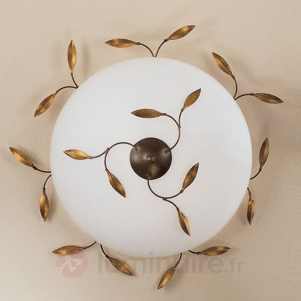Plafonnier CAMPANA à 2 lampes - Plafonniers rustiques