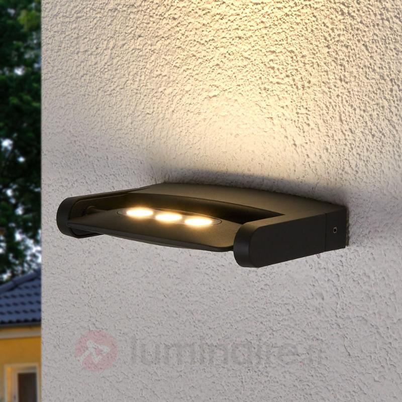 Spot extérieur KEIRAN à 3 POWER LED - Appliques d'extérieur LED
