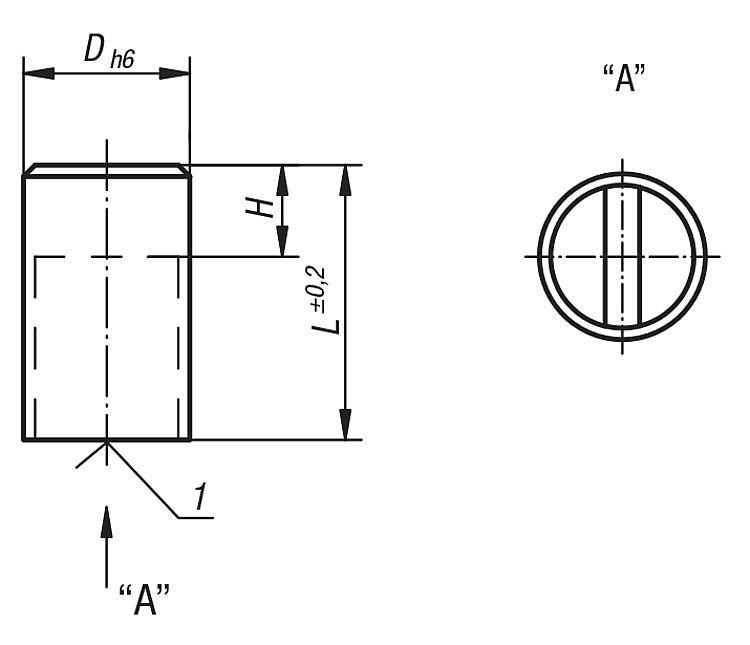Aimant cylindrique en SmCo - Aimants