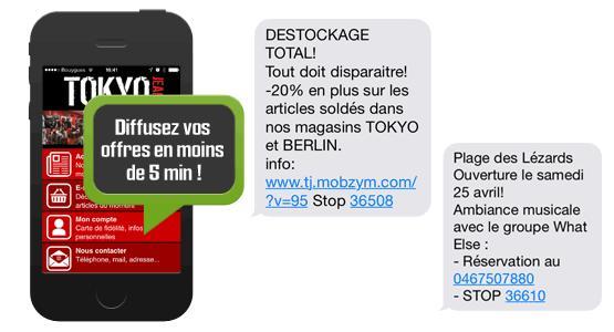 Campagne de SMS marketing