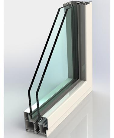 Portes-Fenêtres Accordéons - AIRCLOS S80 RPT