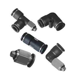Compact Push in Fittings, Miniature Pneumatic Fittings