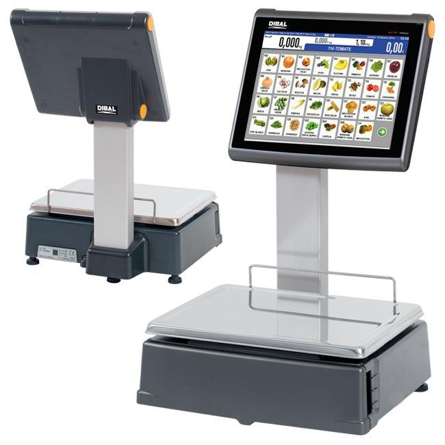 D-900 Series - Retail scales with receipt and/or label printer