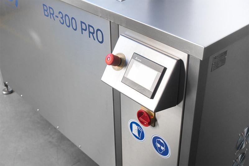 BR-300 PRO - Máquina de limpieza por ultrasonidos automática de 300 L