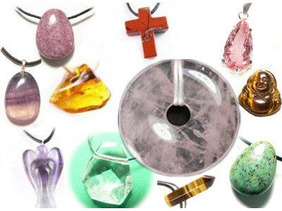 Pendentifs minéraux