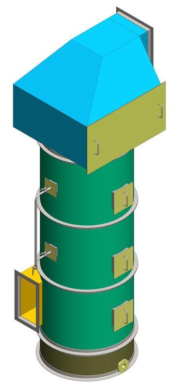 Скрубберы, аппараты мокрой газоочистки - Высокоинтенсивные газоочистительные аппараты мокрого типа