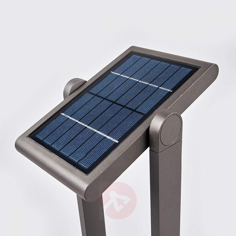 Solar path light Valerian with LEDs, 60 cm - outdoor-led-lights