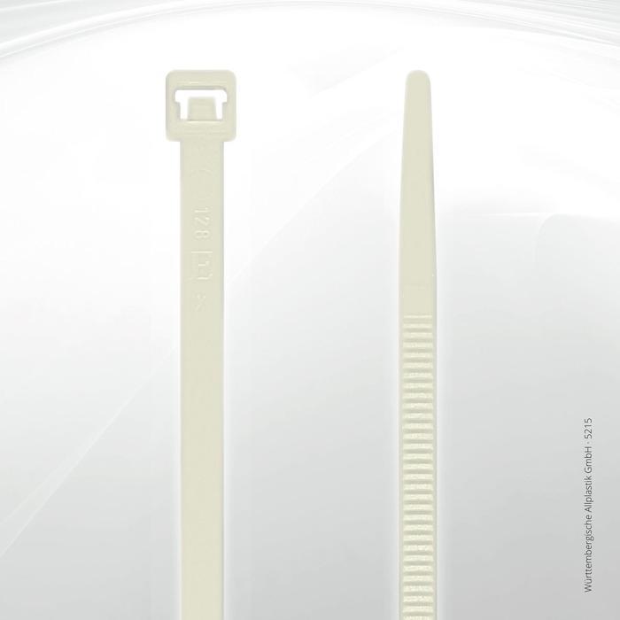 Allplastik-Kabelbinder® cable ties, standard - 5215 (natural)