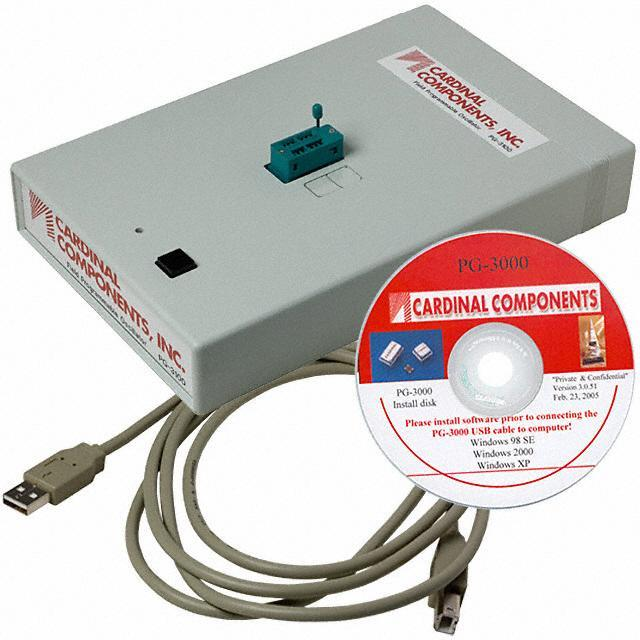 PROGRAMMER USB FIELD OSC - Cardinal Components Inc. PG-3000