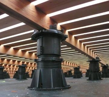 Vloersteun terras - Verstelbare vloersteunen voor terrassen, vlonder, balkons en galerijen
